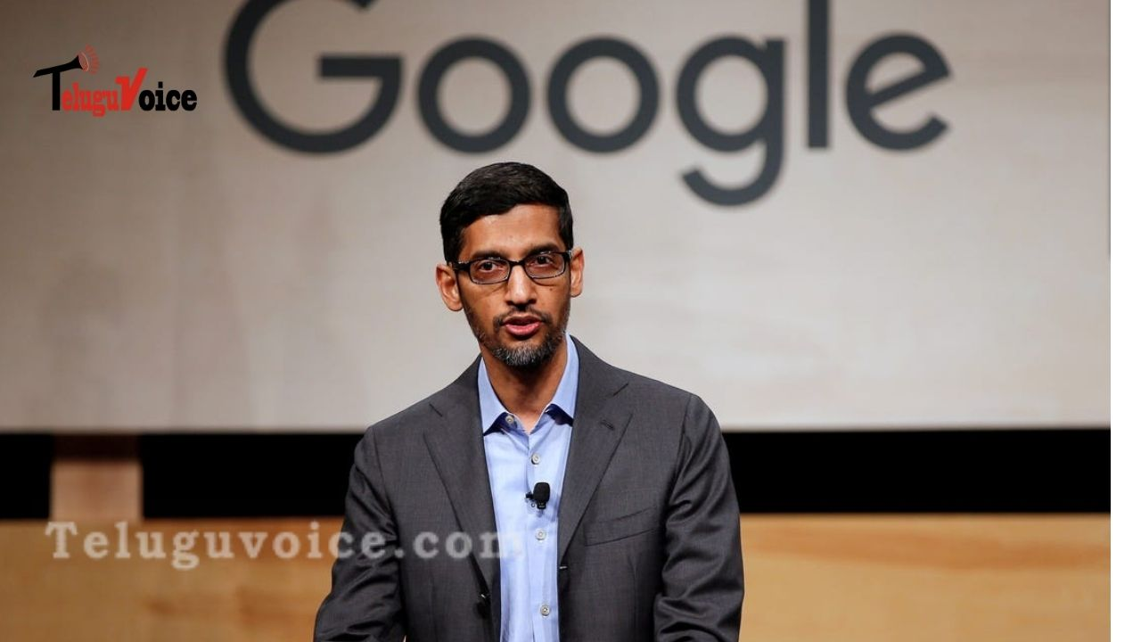 Sundar Pichai's Email To Googlers On Coming Back To The Office teluguvoice