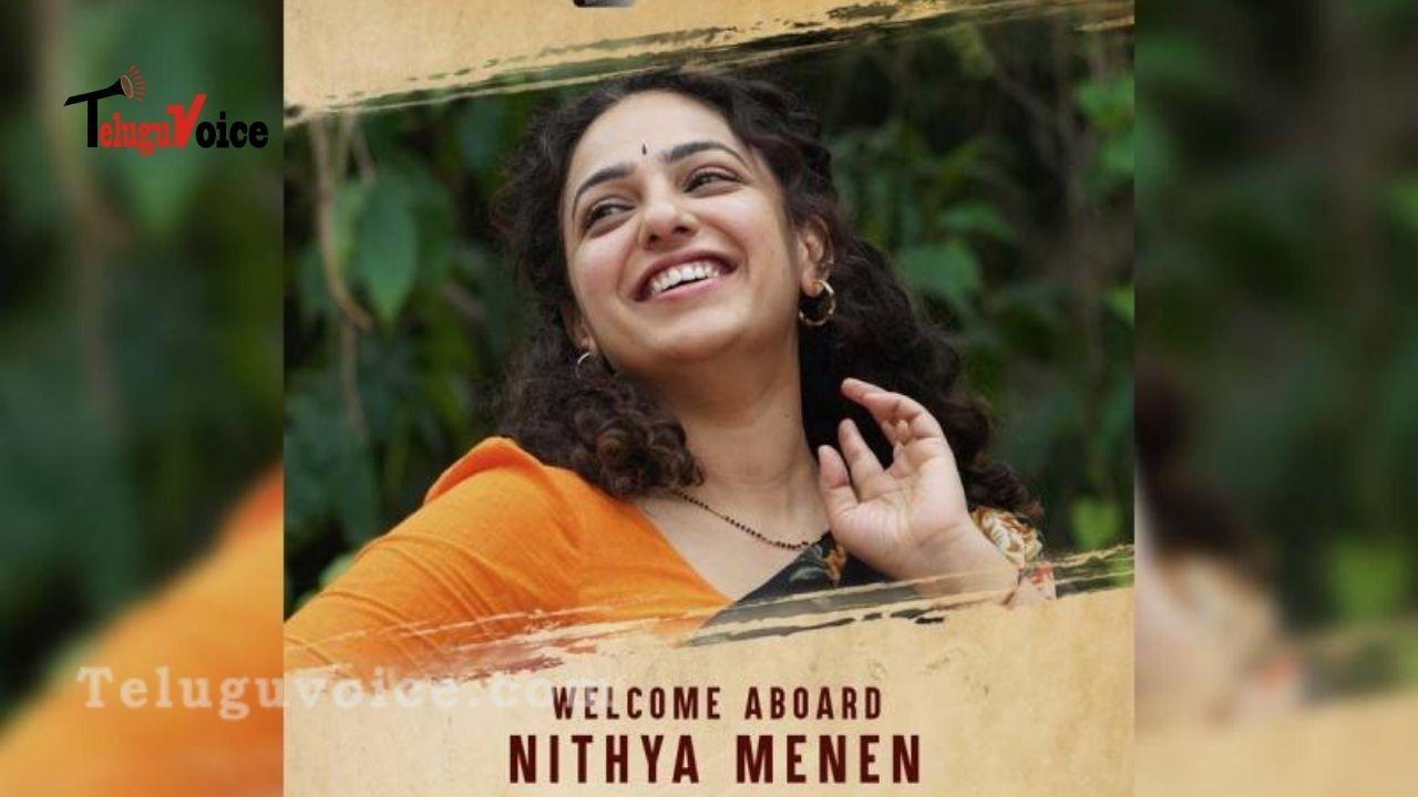 Official : Nithya Menon Roped In #PSPKRana teluguvoice