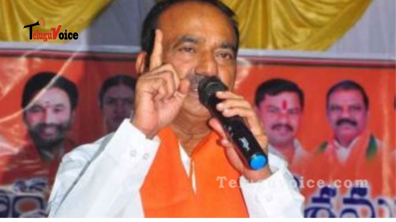 Eatala Looks To Top BJP Leaders To Add Firepower To His Campaign. teluguvoice