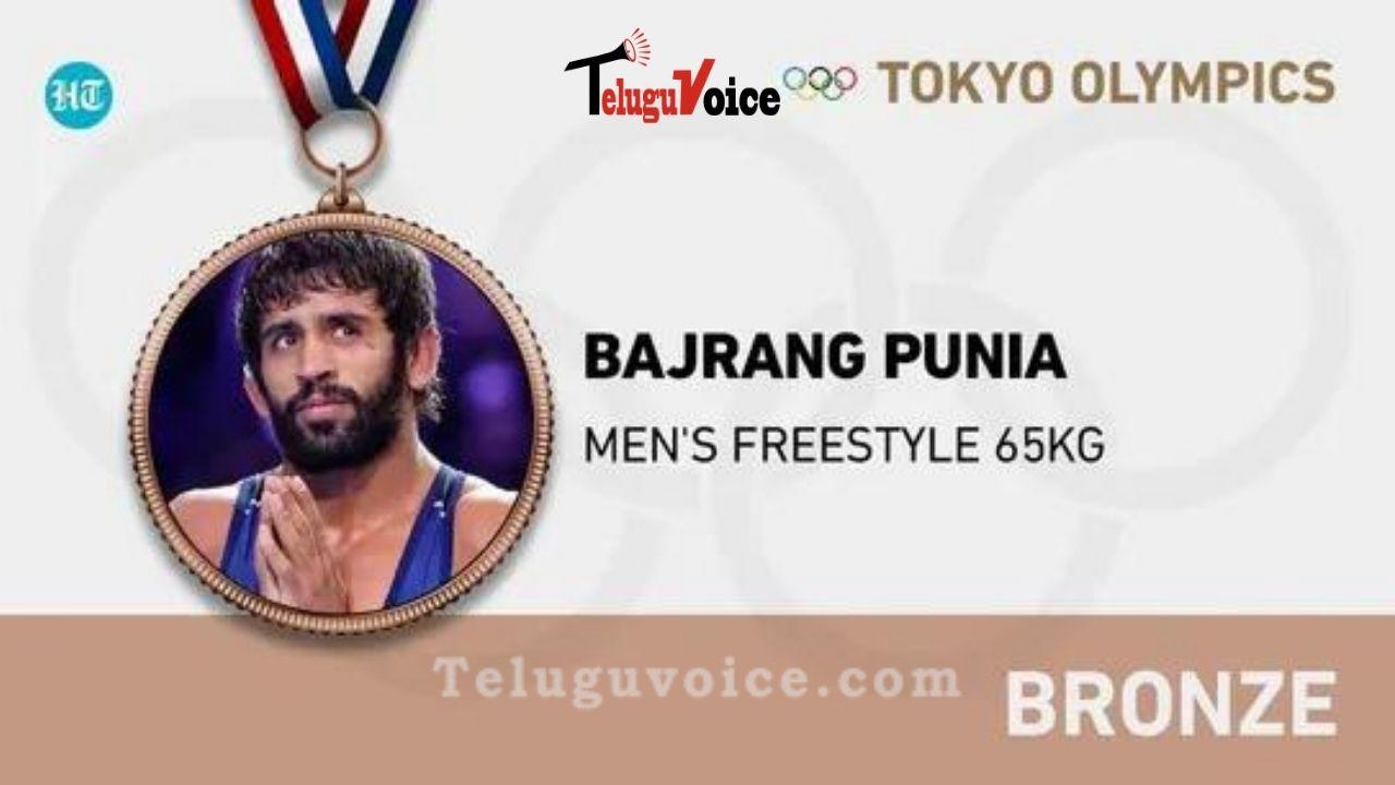 Tokyo Olympics: India Won One More Bronze Medal teluguvoice
