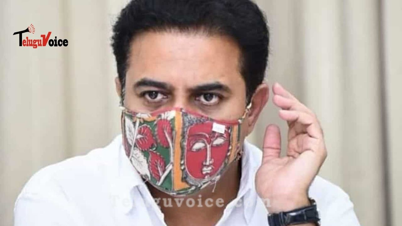 KTR urges Telangana people to apply to BJP for Rs 15Lakh teluguvoice