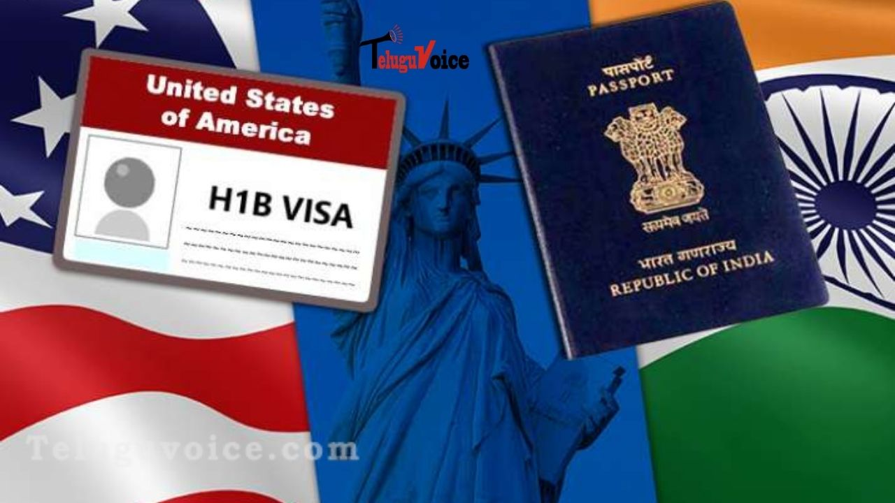 H-1B Visas Will Begin To Be Issued Next Month In The United States. teluguvoice