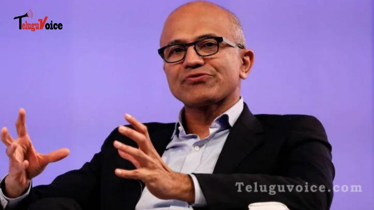 Microsoft CEO Says Forcing Employees Back To Work Is Short-Sighted. teluguvoice