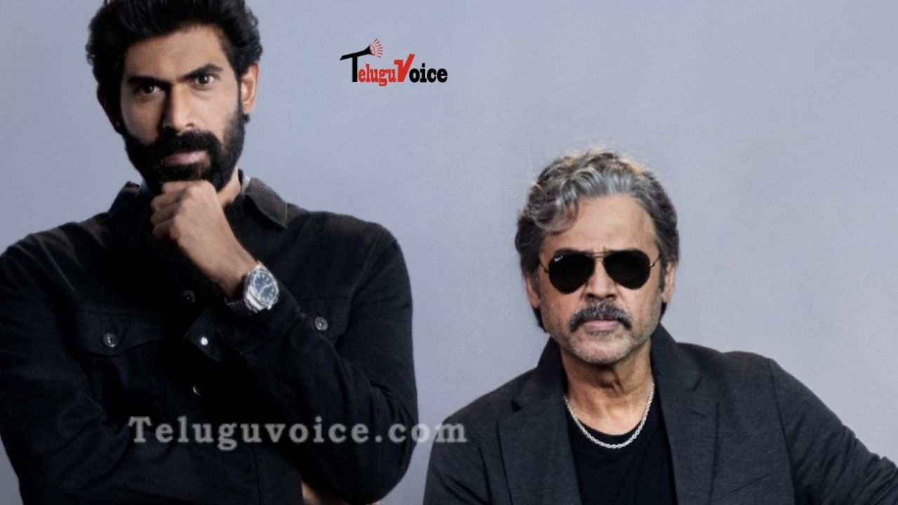 Baahubali Star To Collaborate With Venkatesh For Rana Naidu On Netflix teluguvoice