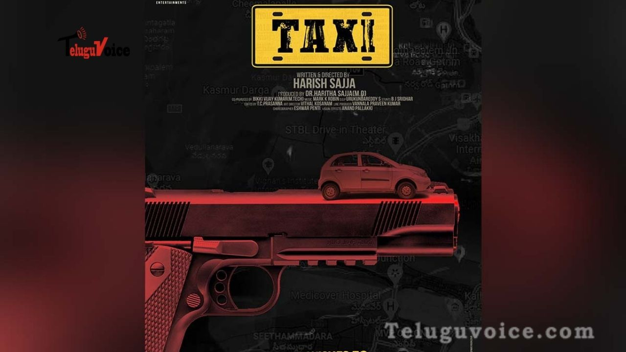 Taxi Title Logo Revealed : Interesting teluguvoice